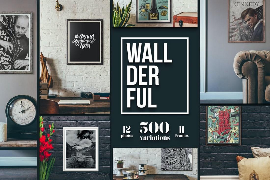 Wallderful - Poster & Photo Frame Mockups