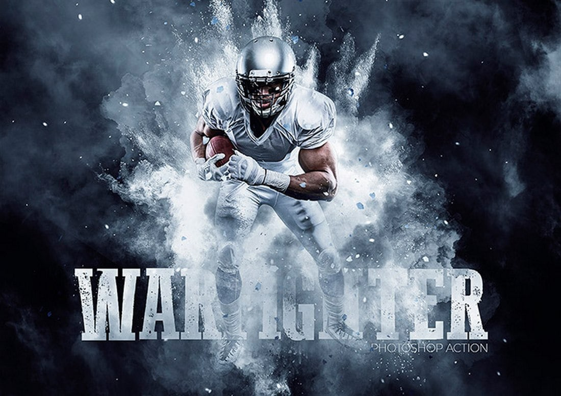 Warfighter Free Photoshop Action