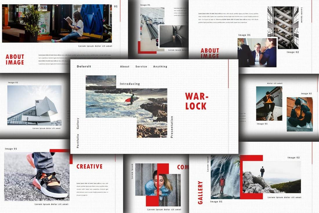 Warlock-Minimal-Powerpoint-Template 20+ Simple PowerPoint Templates (With Clutter-Free Design) design tips  Inspiration|powerpoint