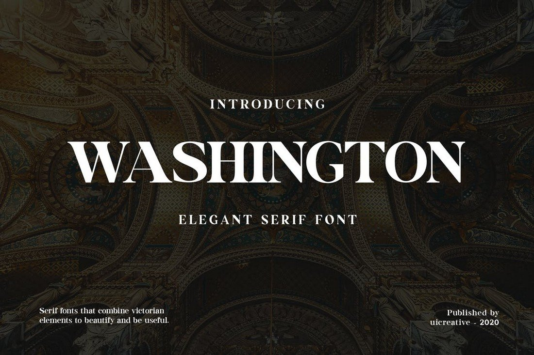 Washington - Display Serif Font