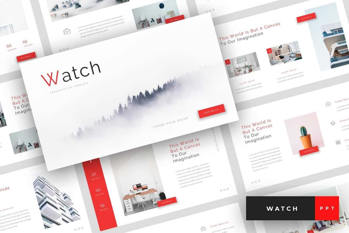 Watch - Creative PowerPoint Template