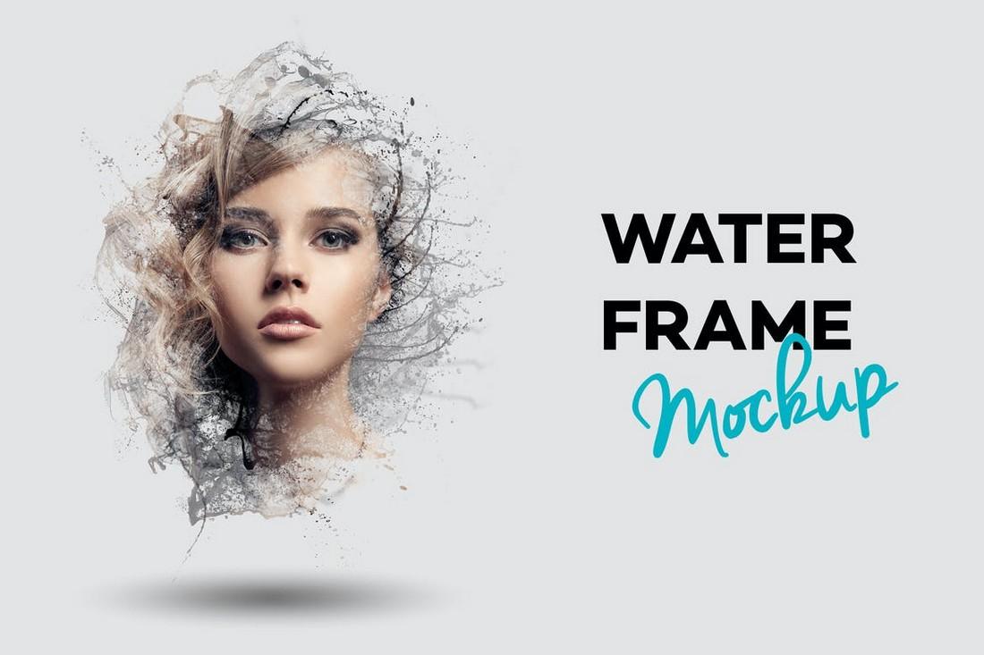 Water Frame Mockup