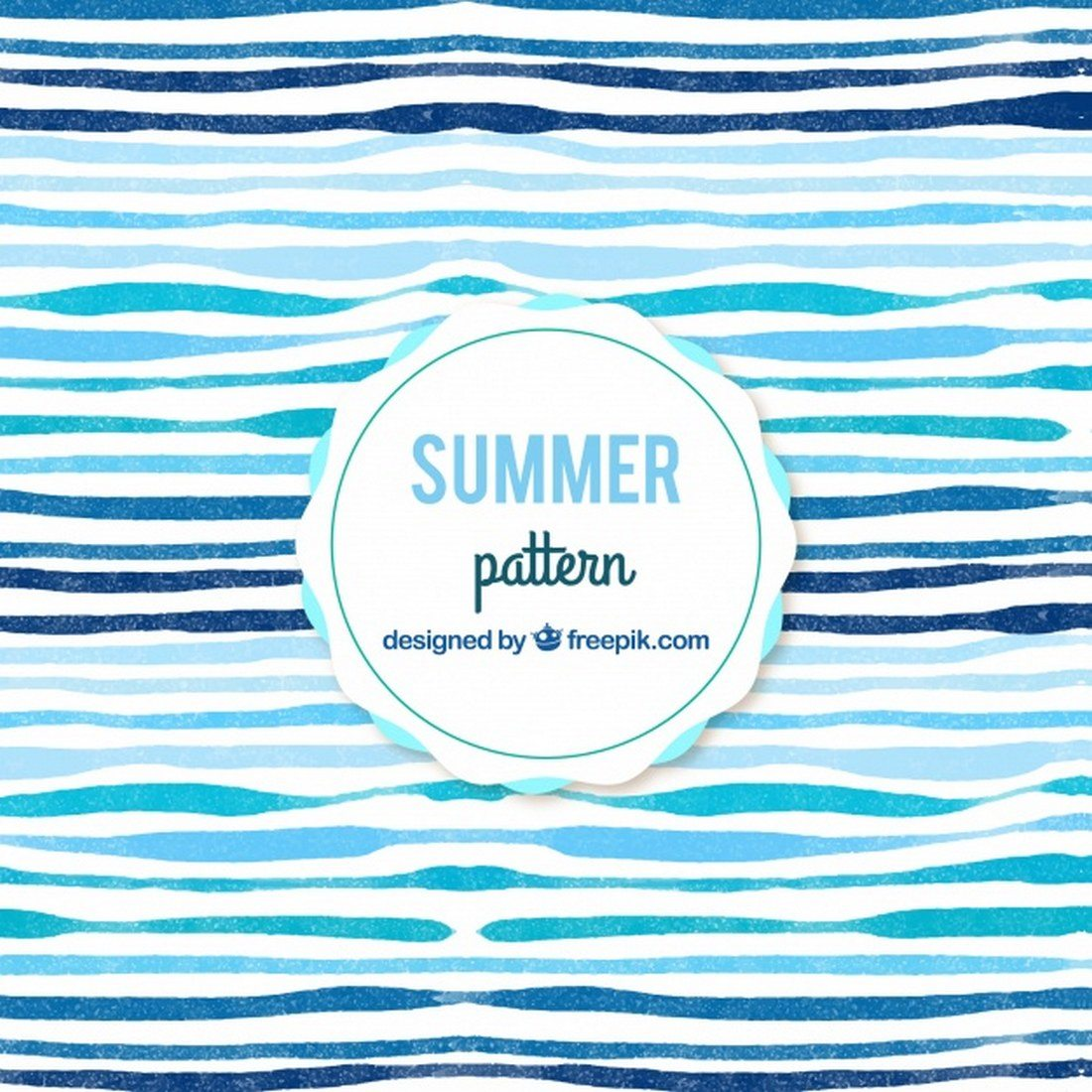 Watercolor-Abstract-Summer-Patterns 30+ Best Line Patterns & Textures design tips