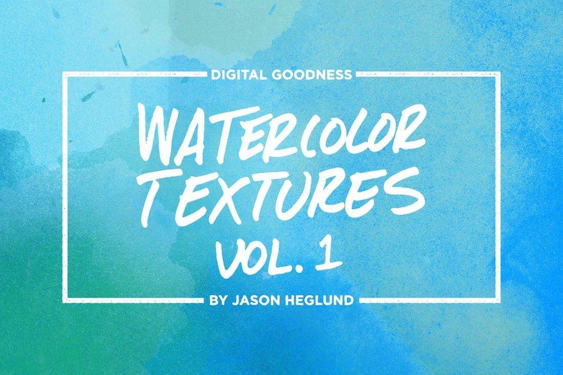 Watercolor-Textures-Pack 30+ Best Watercolor Background Textures design tips