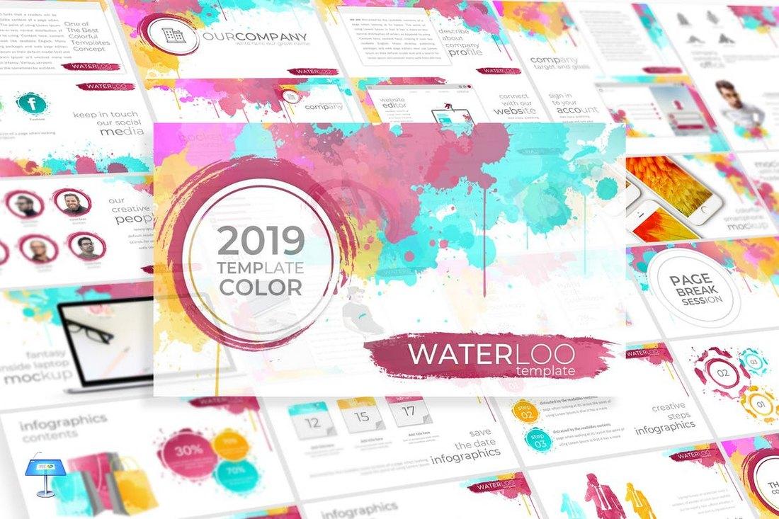 Waterloo - Keynote Template