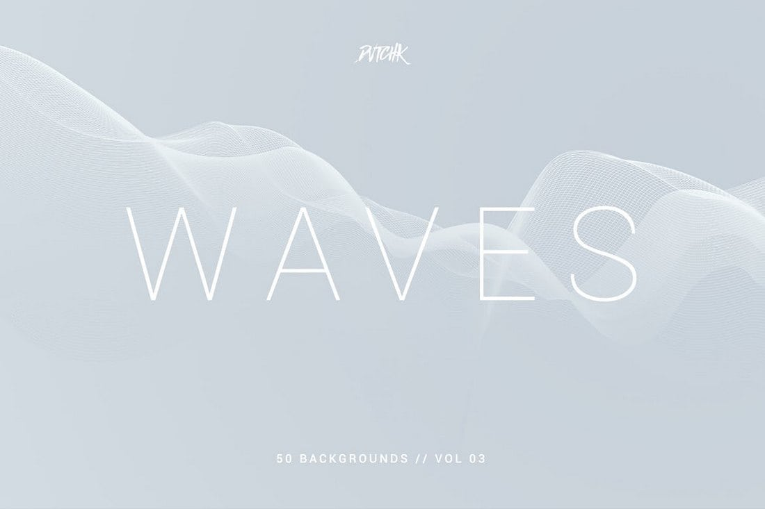 Waves - Network Lines Backgrounds Vol.03
