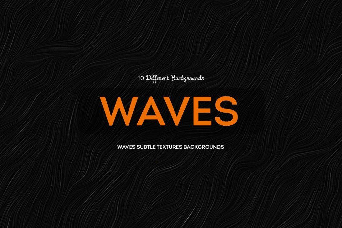 Waves-Subtle-Textures-Backgrounds 30+ Best Subtle Black & White Background Textures design tips