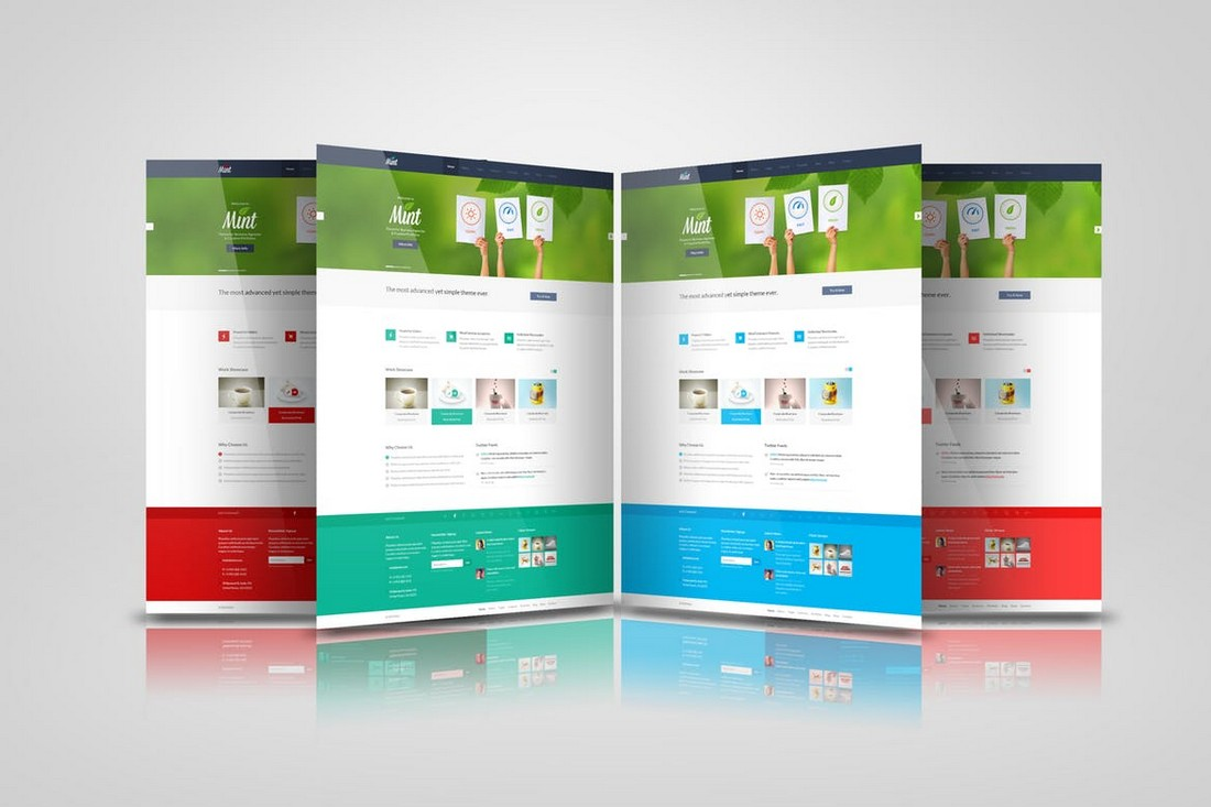 Web-Pages-Presentation-Mockup 40+ Best Website PSD Mockups & Tools 2020 design tips