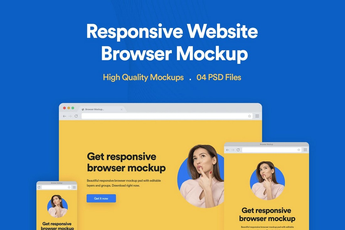 Website-Browser-Mockup-PSD-Template 40+ Best Website PSD Mockups & Tools 2020 design tips