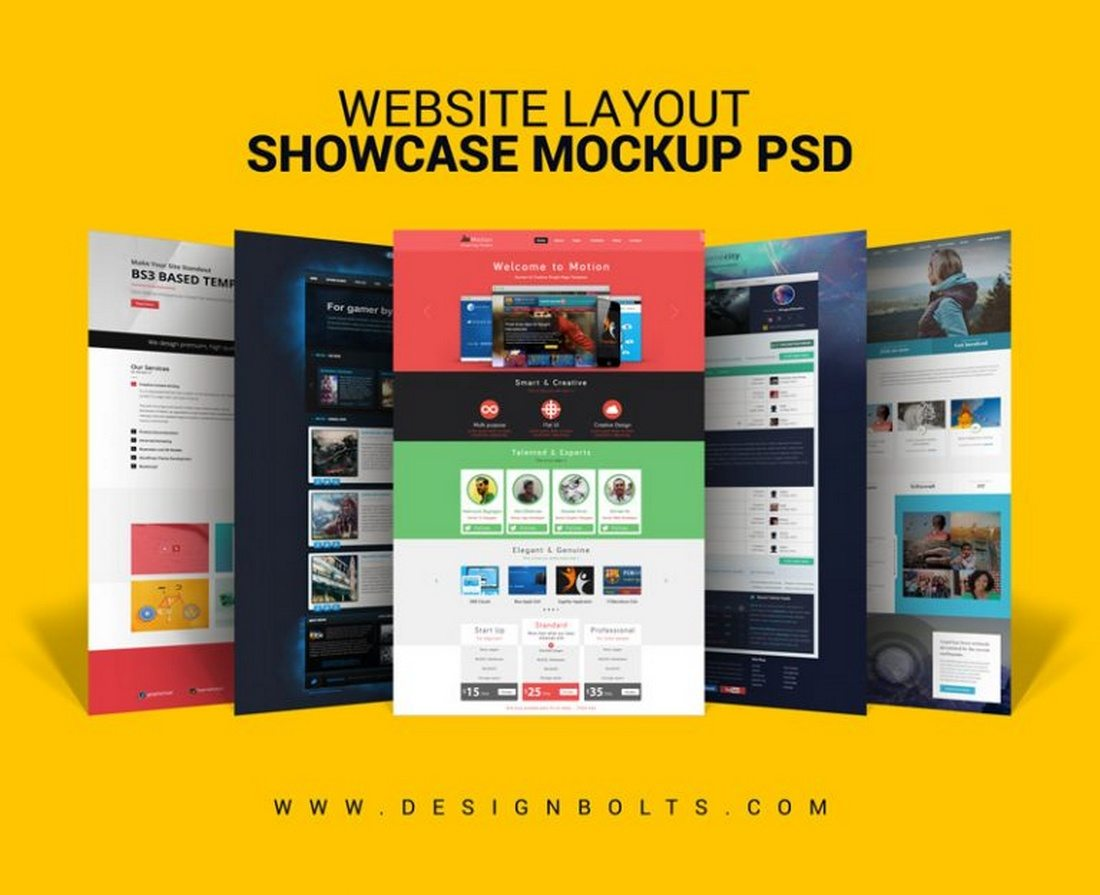 Website-Layout-Design-Showcase-Mock-up-PSD 40+ Best Website PSD Mockups & Tools 2020 design tips
