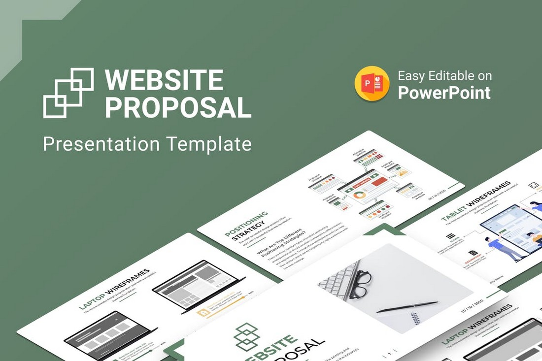 Website Proposal PowerPoint Template
