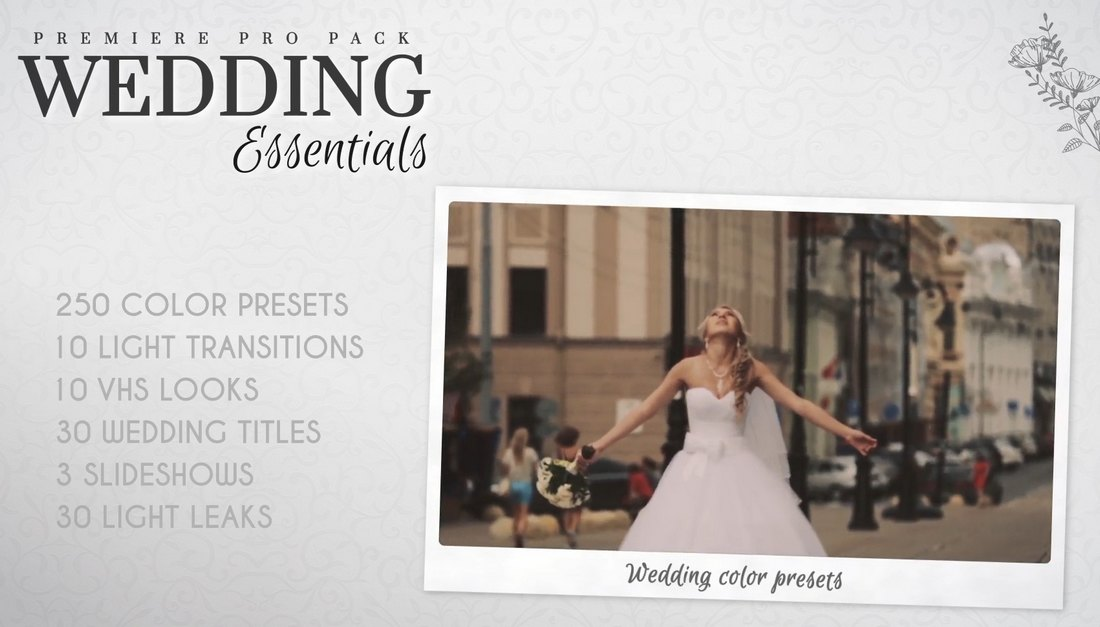 Wedding Essentials - Effects & LUTs for Premiere Pro