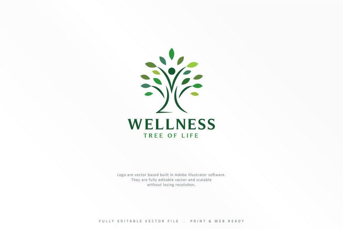 Wellness Tree Logo