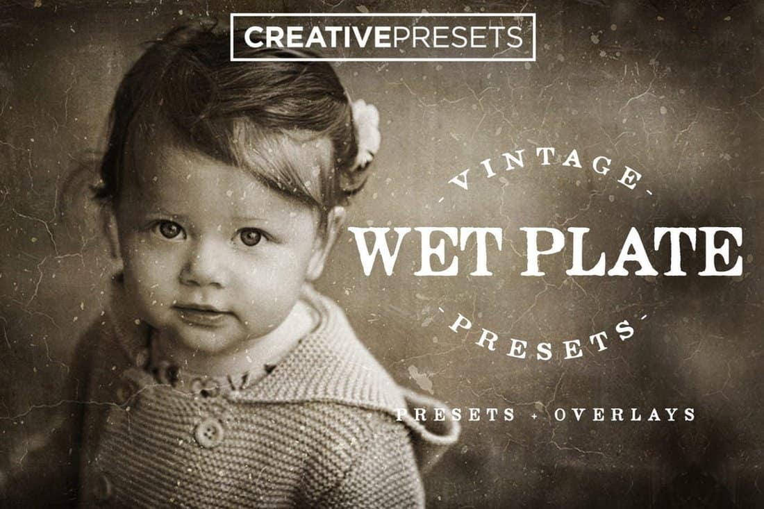 Wet Plate Lightroom Presets & Overlays