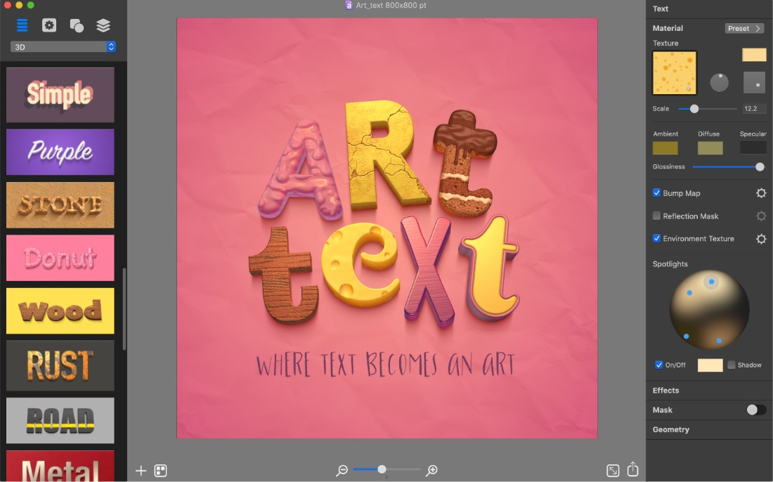 How To Use Art Text 2
