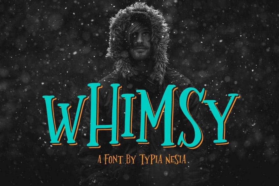 Whimsy 100+ Best Modern Serif Fonts design tips