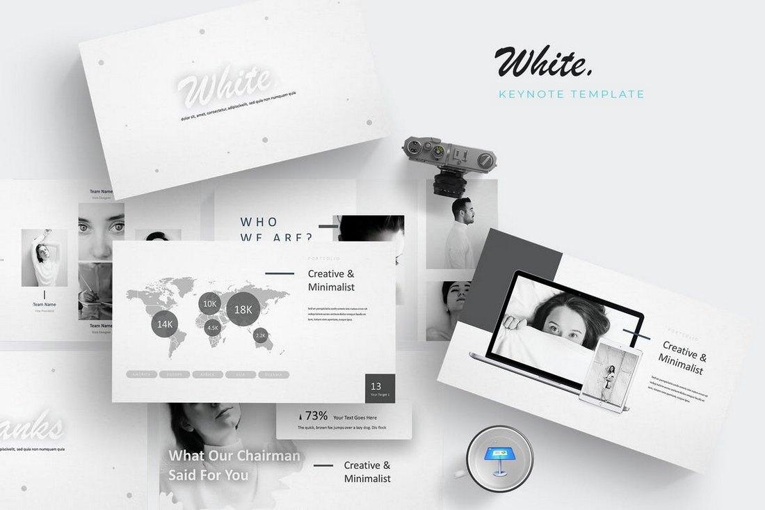 White - Keynote Template