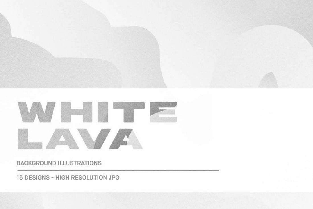 White Lava - Background Textures