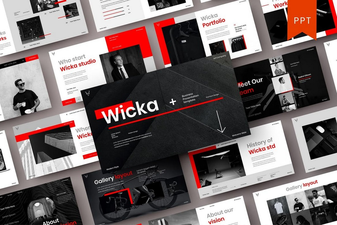 Wicka – Business PowerPoint Template