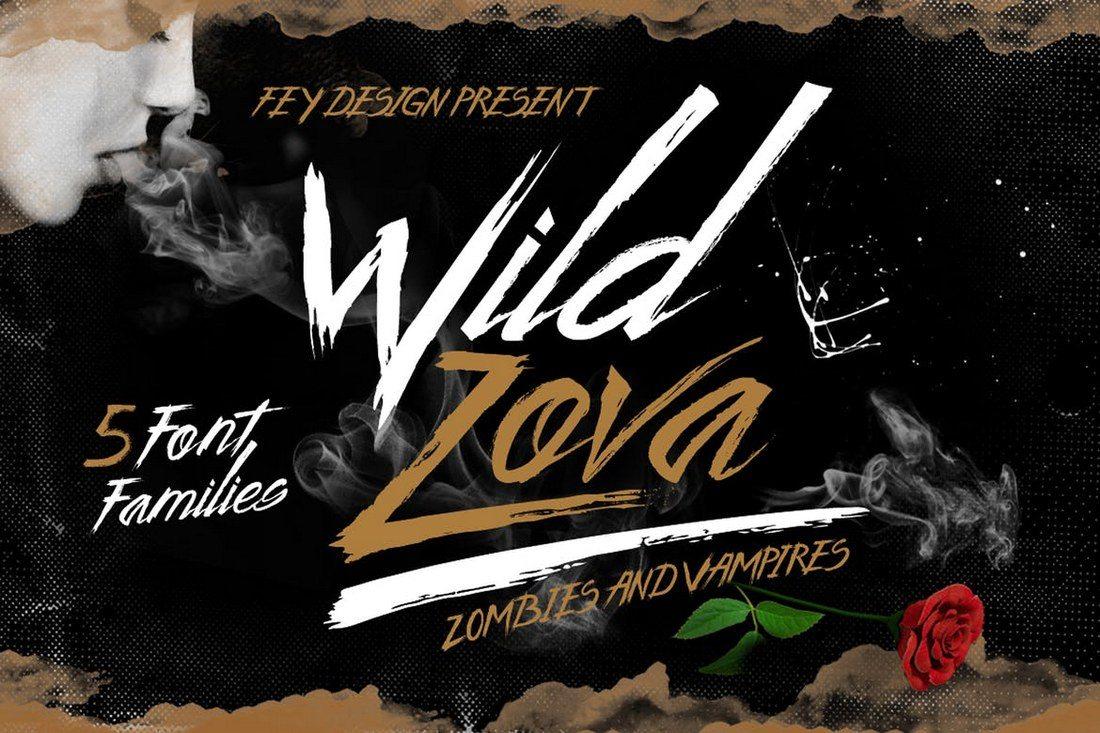 Wild-Zova-Brush-Font 30+ Best Fonts for Logo Design design tips