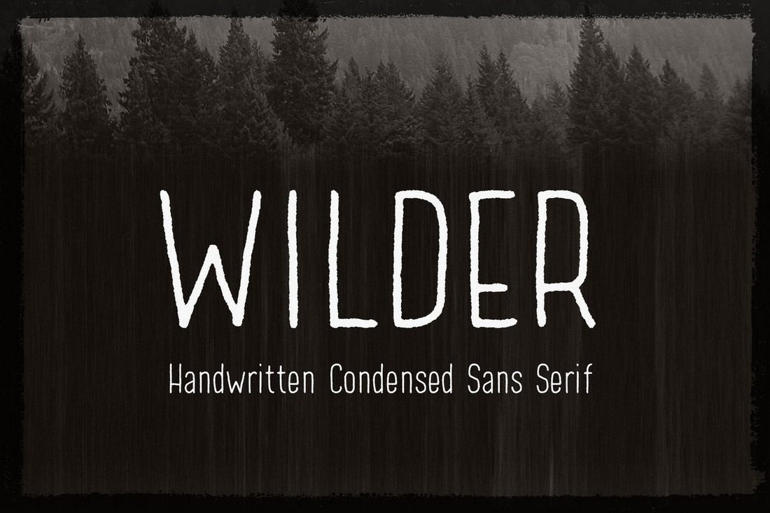 Wilder 40+ Best Condensed & Narrow Fonts of 2019 design tips