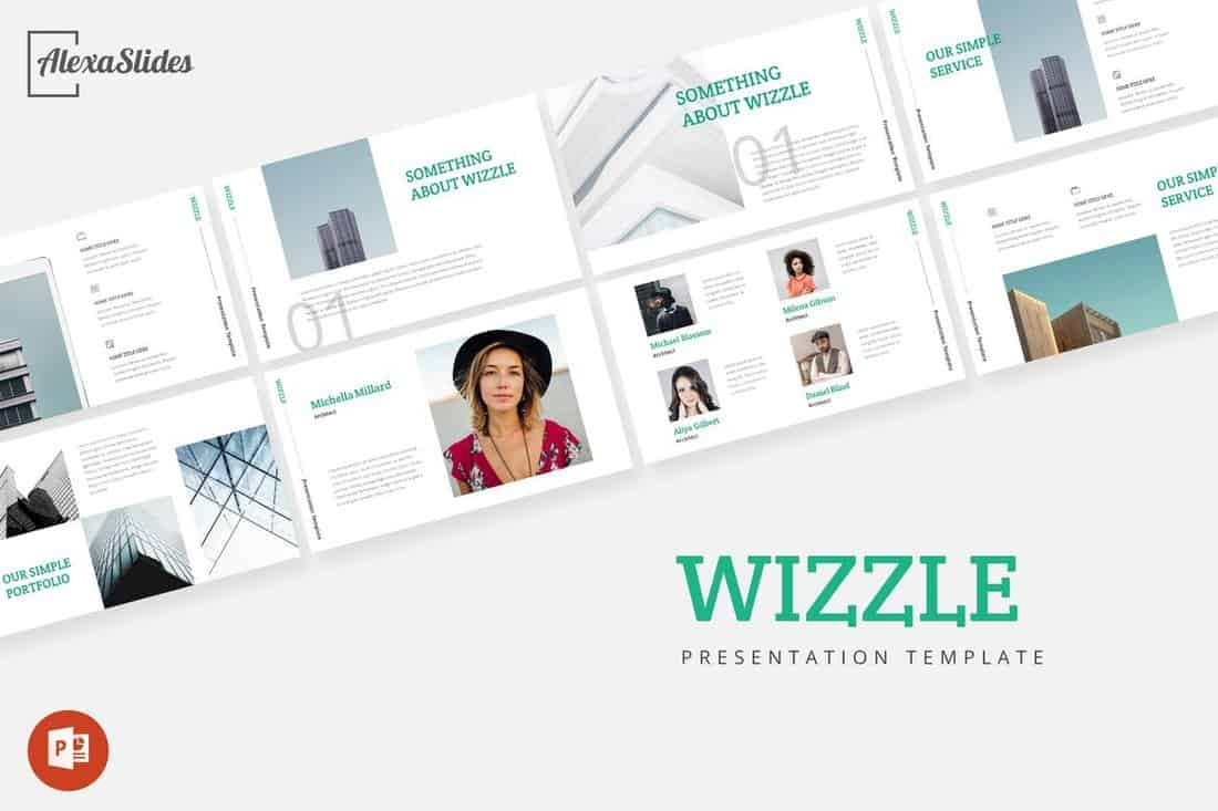 Wizzle - Powerpoint Presentation Template