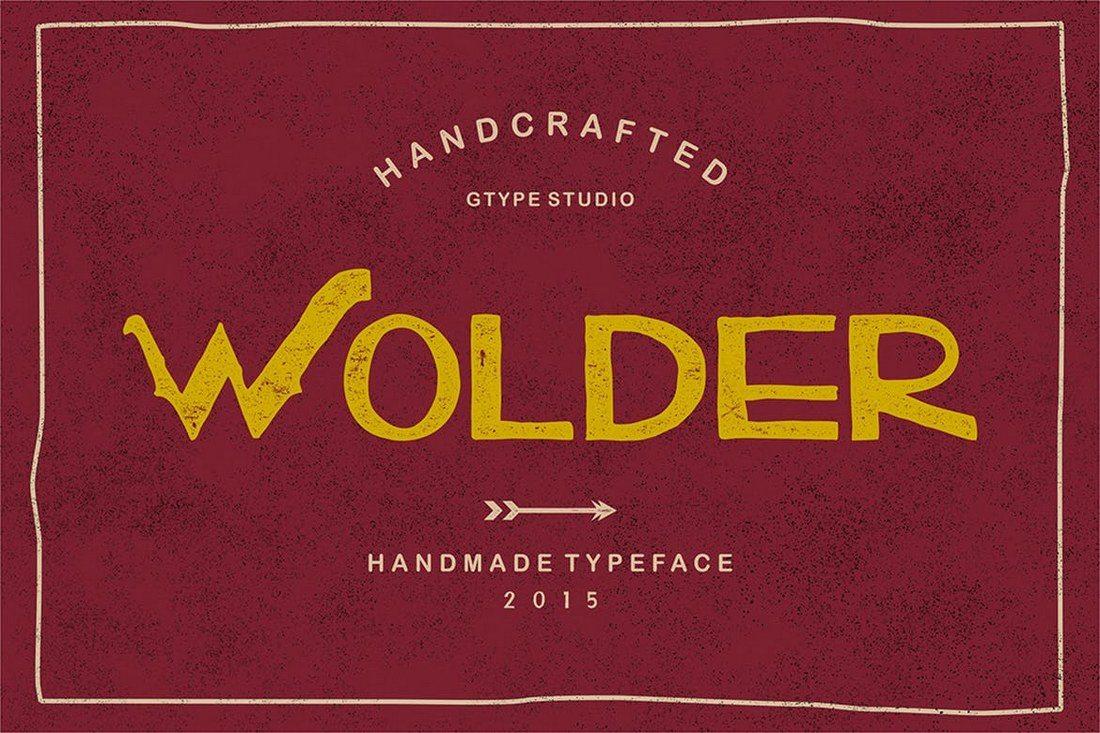 Wolder-Typeface 60+ Best Big, Poster Fonts of 2019 design tips