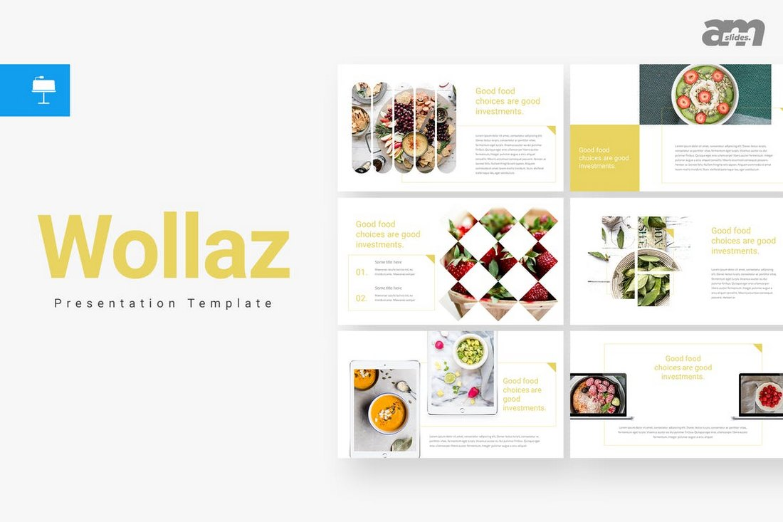 Wollaz-Creative-Keynote-Template 30+ Best Minimal & Creative Keynote Templates design tips