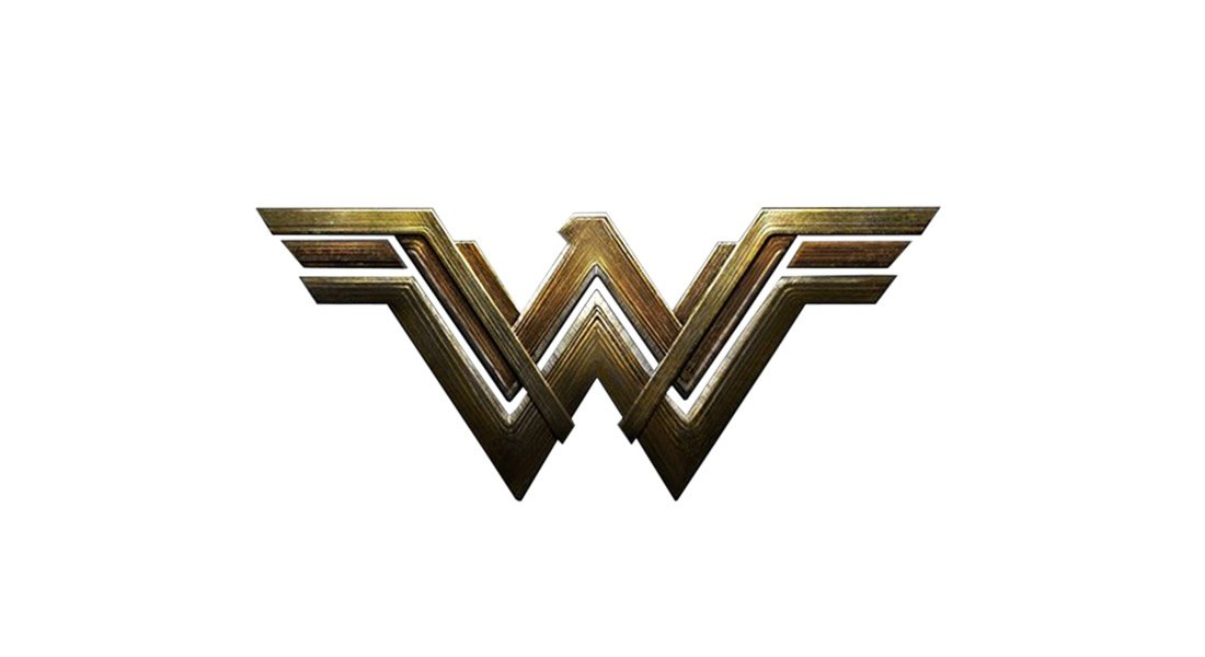 Modèle de logo de film Wonder Woman