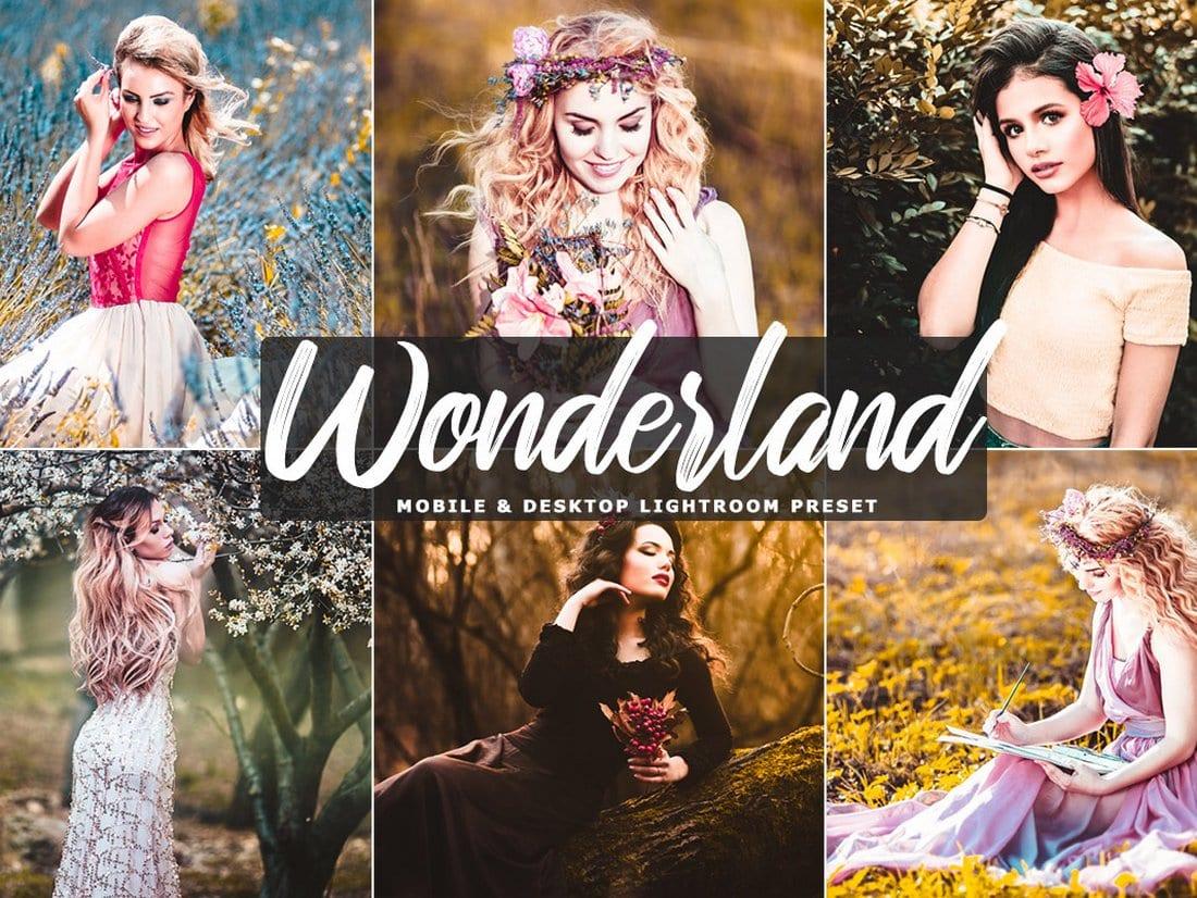 Wonderland - Free Mobile Desktop Lightroom Presets