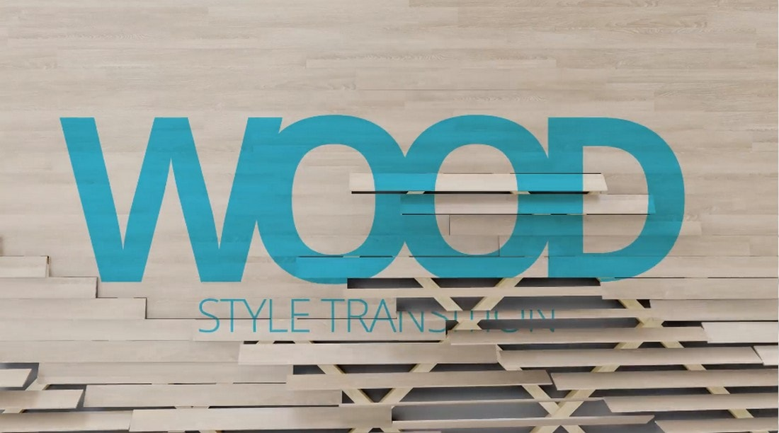 Wood Transitions for After Effects