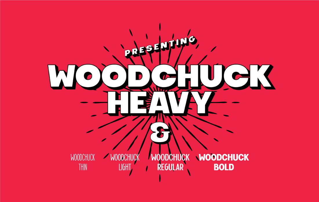 Woodchuck-Free-Bold-YouTube-Font 30+ Best YouTube Fonts (For Thumbnails + Videos) 2020 design tips