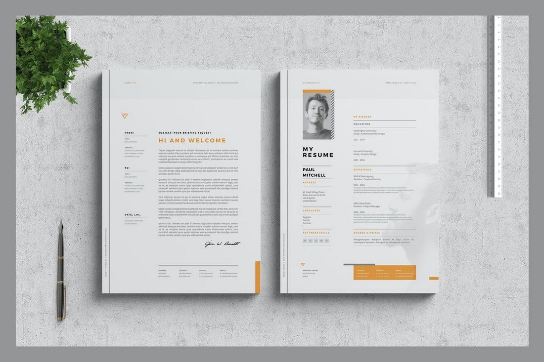 Word Resume and Cover Letter for Freelancers