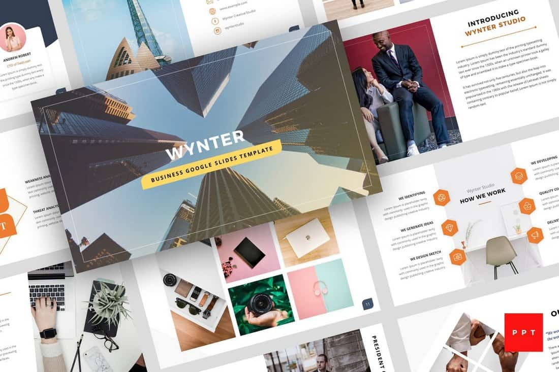 Wynter - Business PowerPoint Template