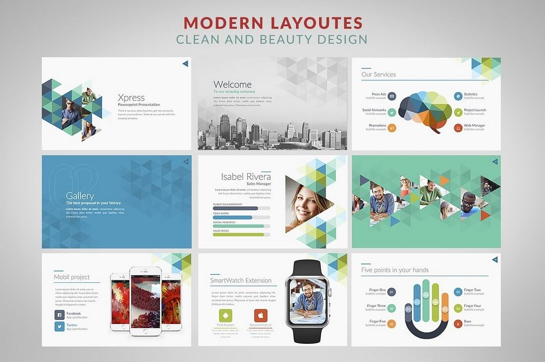 60 beautiful premium powerpoint presentation templates design xpress powerpoint templates alramifo Image collections