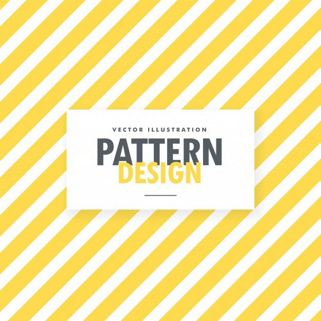 Yellow-And-White-Stripes-Pattern 30+ Best Line Patterns & Textures design tips