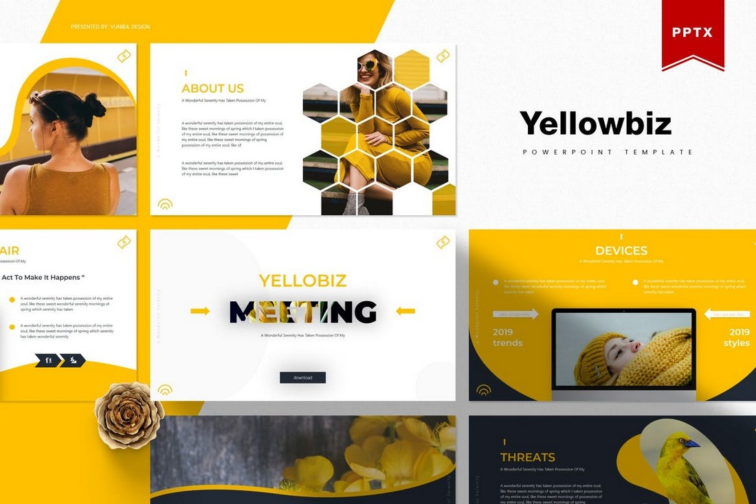 Yellowbiz-Business-Powerpoint-Template 20+ Best Webinar PowerPoint Templates (Remote Presentation PPT Slides) design tips
