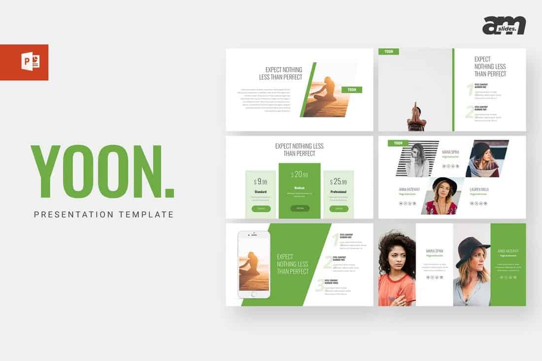 Yoon - Business Powerpoint Template