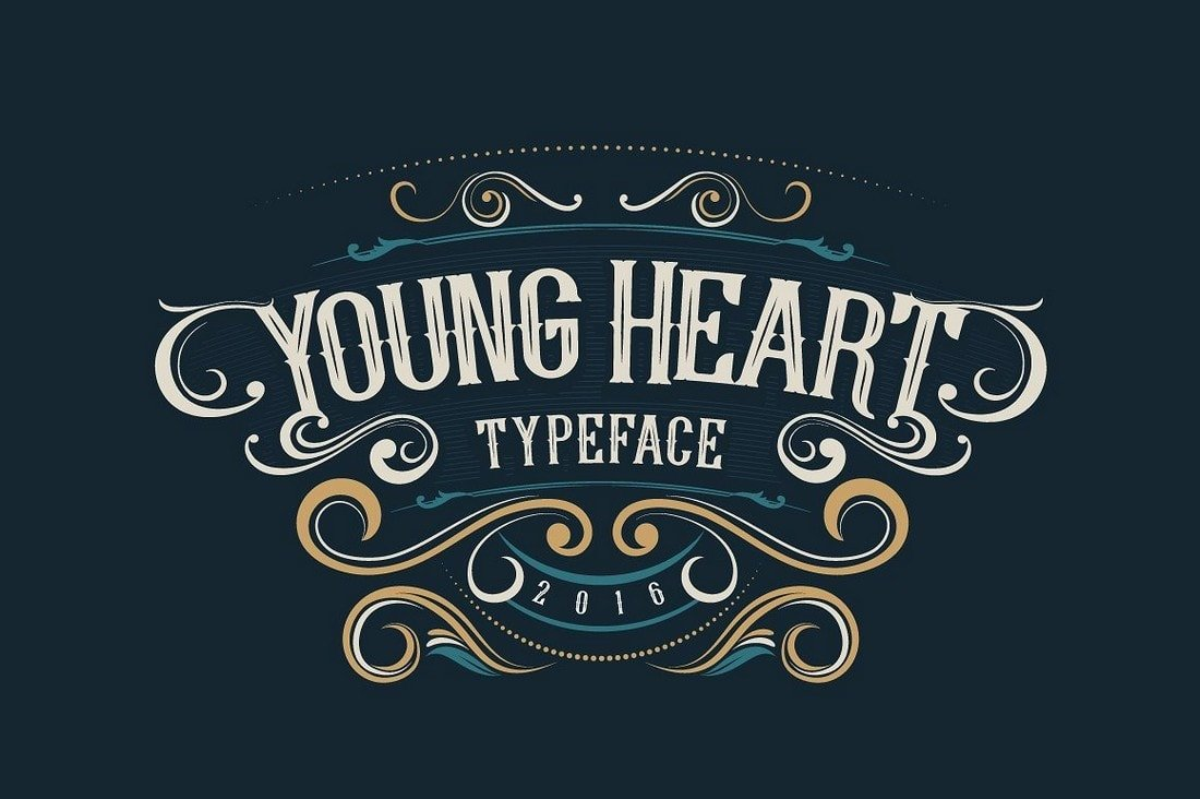 Young Heart - Fuente Tattoo Gratis