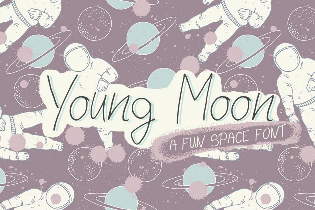 Young Moon Creative Space Font