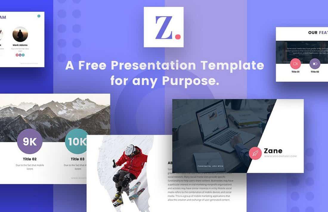 Zane-Free-Modern-Google-Slides-Theme 30+ Modern, Premium Google Slides Templates & Themes design tips