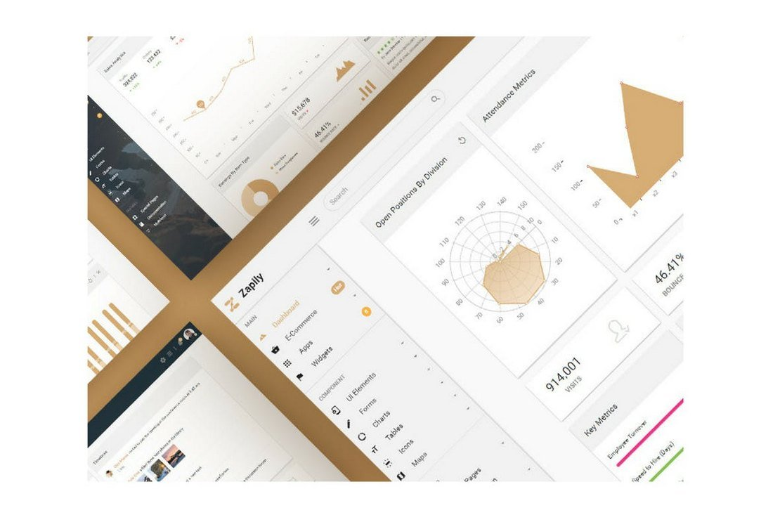 Zapily-Responsive-Bootstrap-Admin-Template 40+ Best Bootstrap Admin Templates of 2019 design tips