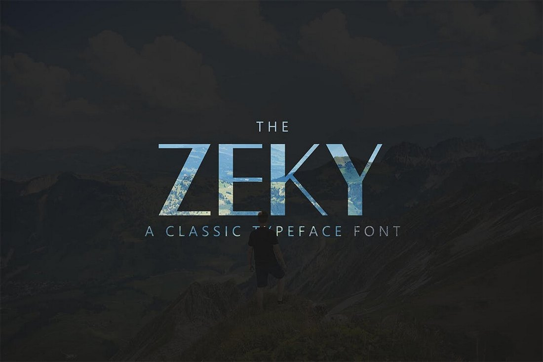 Zeky-Classic-Poster-Font 30+ Best Fonts for Posters design tips