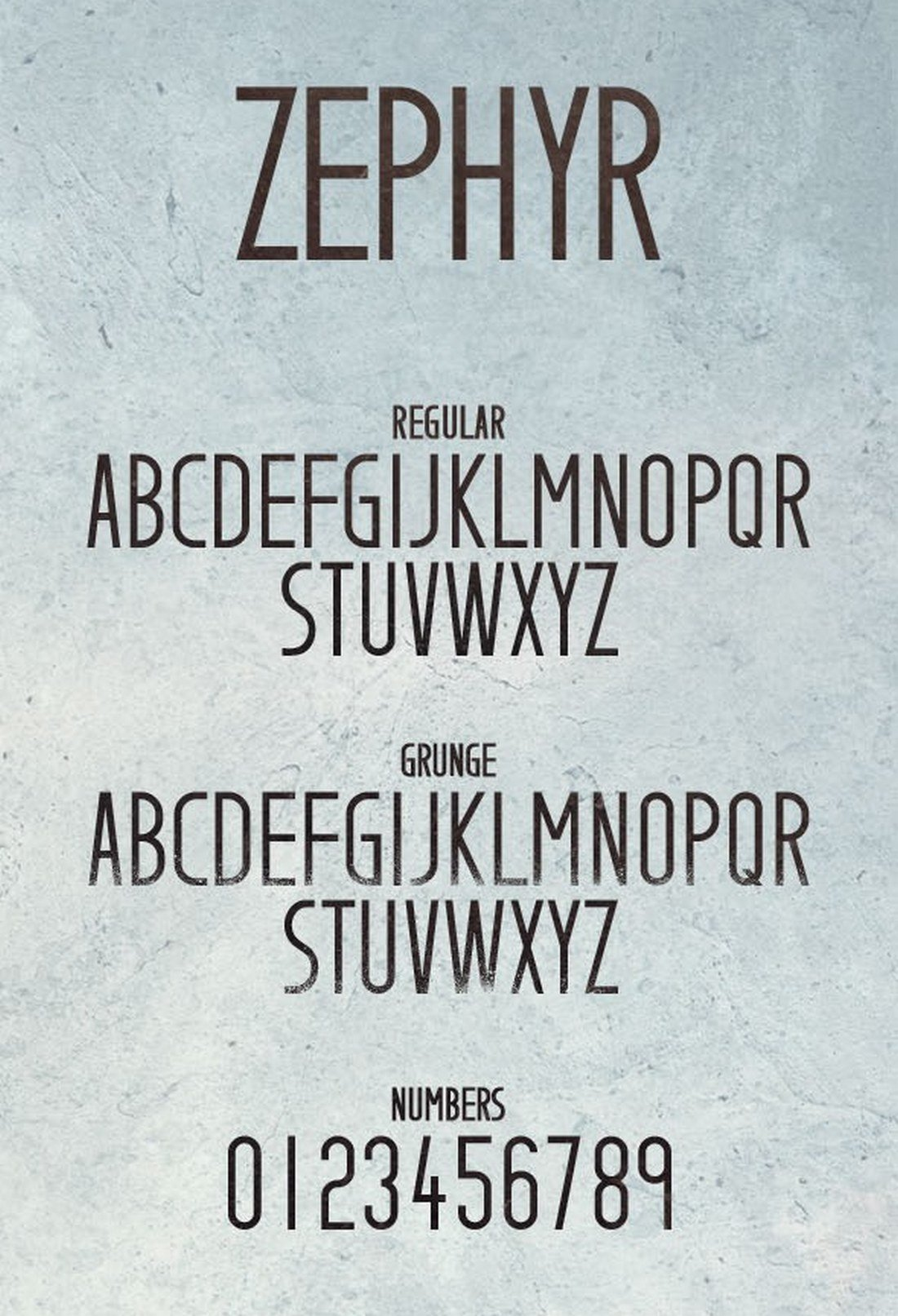 Zephyr-Typeface-2 40+ Best Number Fonts for Displaying Numbers design tips