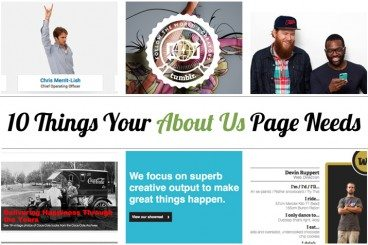 10 Key Features of an 'About' Page