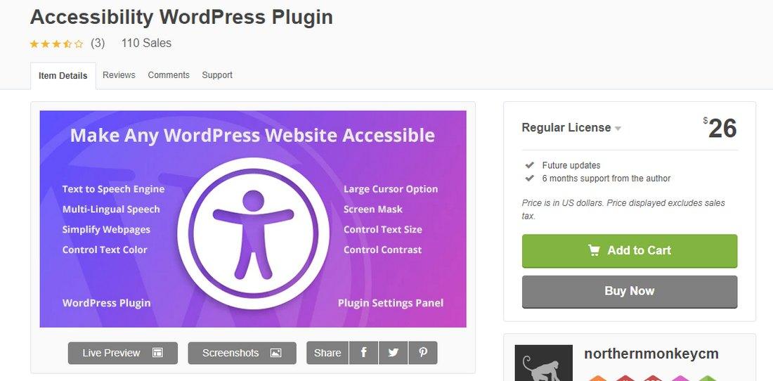 accessibility-wordpress-plugin- 6 Top Web Accessibility Plugins for WordPress design tips