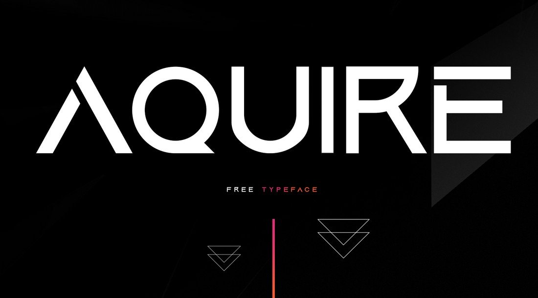 acuire free font