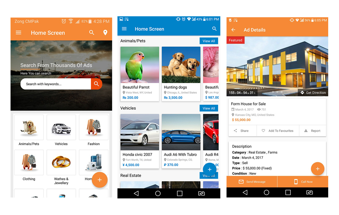 adforest-app 20+ Best Android App Templates (For Mobile Apps) 2021 design tips