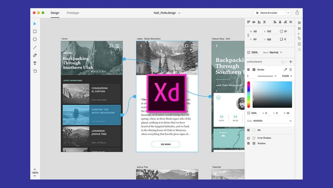 adobe-xd prototyping