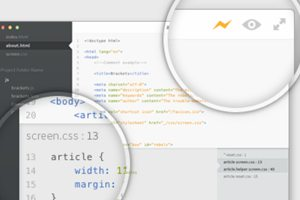 Brackets: Adobe's Innovative Text Editor Project
